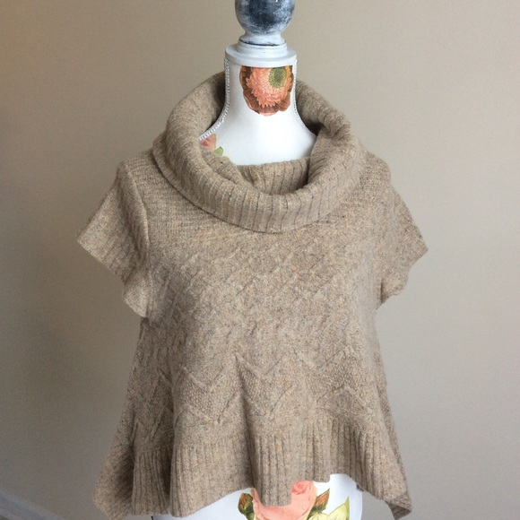fc3bc621a Anthropologie Sweaters - Anthropologie Sweet Cables Pullover Swing Sweater